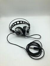 *** VTG AKG Black Silver Studio Headphones