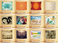 Various Picture Print Wall Hanging Decor Tapestry Picnic Beach Sheet Table Cloth