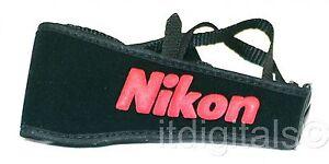 """For Nikon 2.5"""" inch Wide Camera Strap DSLR D40 D50 D60 D3100 D100 D80 D90 D50"""