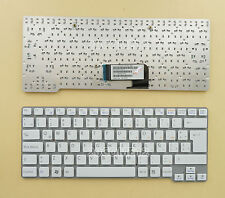 NEW FOR SONY VAIO VPC CW VGN-CW Keyboard Backlit Latin Spanish WHITE 148760561