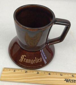 Frangelico Wide Bottom No Spill Travel Ceramic Coffee Mug Cup