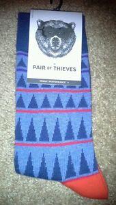 Pair of Thieves men's socks NWT 8-12
