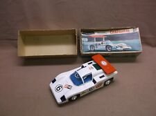 VINTAGE ALPS CHAPARRAL 2F BATTERY OPERATED RACE CAR ORIGINAL BOX VERY GOOD COND