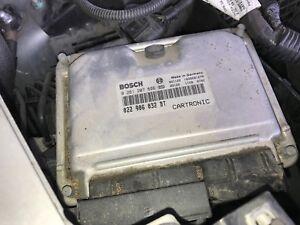 2003 2004 2005 2006 PORSCHE CAYENNE S 4.5 ENGINE COMPUTER MODULE ECM 0261207696