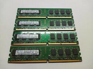 Samsung Memory Module PC2 5300U M378T2953EZ3 4GB = 4 x 1GB Sticks