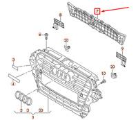Audi Q5 8R Avant Pare-Choc Plaque 8R0853692D Neuf Original