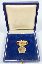 DDR Medaille Deutscher Meister im Schießen 1957 in OVP (s108)
