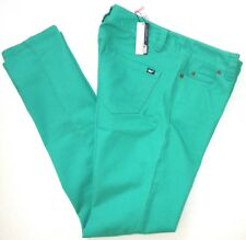 VINEYARD VINES 16 Cove Green NANTUCKET Stretch Cotton Colored Jeans $125 NWT 16