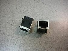 STEWART Modular Jack Connector R/A 1-Port 8p8c (RJ45, Ethernet) **NEW**  Qty.2