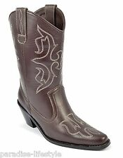 Womens Ladies Cowboy Boots Thigh Western Pointed Heel Knee Riding New Shoes Size