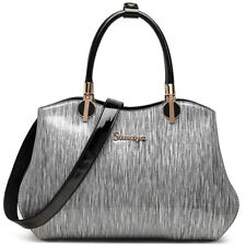 Genuine Leather Lady's Party/Cocktail Bag Patent Leather Handbags Crossbody Bags