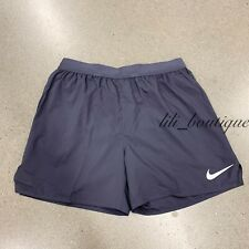 NWT Nike AT4000-015 Men Flex Stride Lined Running Training Shorts Gridiron Siz M