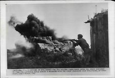 Russian Soviet Red Army battle Nazi Army near Stalingrad 1942 Press Photo
