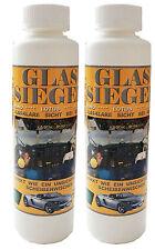 2 Flaschen Glassiegel, Nano, Lotus Effekt, Scheibenversiegelung, NEU