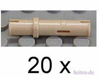 LEGO Technik - 20 x Technik - Pin lang beige / Tan  / 32556 NEUWARE