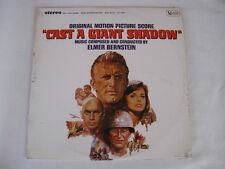 "ELMER BERNSTEIN ""CAST A GIANT SHADOW"" UAS 9002 1966 LP OST ITALIAN EDITION"
