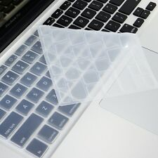 CLEAR Silicone Keyboard Cover Skin for Macbook Pro 13""