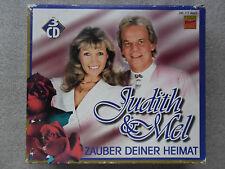 3 CD-ALBUM-COMPILATION-JUDITH & MEL-ZAUBER DEINER HEIMAT-1997-36 TRACK-KOCH_/_-
