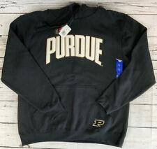 Champion Purdue Boilermakers Black Hoodie Sweatshirt Size Large 3232