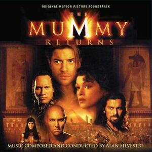 The Mummy Returns - 2 x CD Expanded Score - Limited Edition - Alan Silvestri