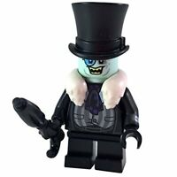 LEGO Batman Movie The Penguin White Fur Collar Minifigure from 70909