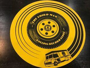 Rolling Record Store Slipmat Third Man Records
