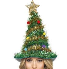 Weihnachtsbaum Hut mit Girlanden und Stern für Damen Weihnachten Weihnachtsfeier