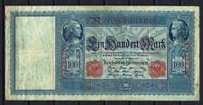 Allemagne  - Germany billet de 100 mark (4) pick 42 (2) 21 avril 1910 Very Fine