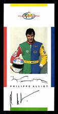 Philippe Alliot Autogrammkarte Original Signiert Formel 1 +G 15808
