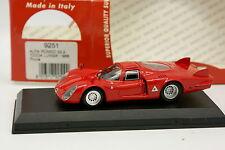 Best 1/43 - Alfa Romeo 33 .2 Coda Lunga 1968 Prova