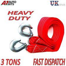 3000 kg 3T 3,5 M Remolque Remolcador Cuerda De Tracción Correa Alta Resistencia