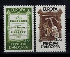 "(b15)  timbres d'Andorre Français n° 339/340 neufs** année 1985 ""europa"""