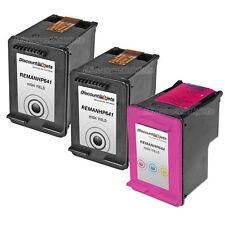 3 BLACK COLOR CC641WN Ink Cartridge 60XL 60 XL for HP Deskjet F4280 D1660 F4480