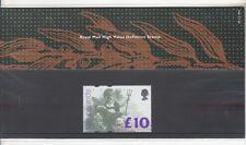 GB 1993 HV definitivo £ 10 presentazione confezione da 28 SG:1658 UM Nuovo di zecca timbro alto valore