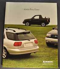 2000 Suzuki Catalog Brochure Swift Esteem Vitara Grand Excellent Original
