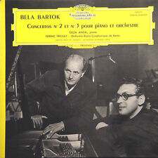 BELA BARTOK Concerto N° 2 Et 3 G Anda F Fricsay D. Grammophon 138 111 LP