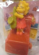 "Burger King 2008 The Simpsons Kids Meal Toy ""Lisa Simpson"" New Never Been Opened"