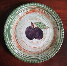 "Blue Ridge / Southern Potteries, Inc. ~ ""Plum Duff""  8-3/8"" Plum Plate ~ EUC"