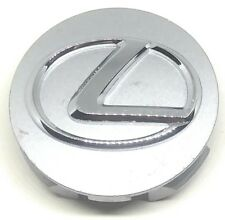 "2.5"" OEM Lexus Wheel Rim Hub Center Dust Cap Hubcap Cover Silver Logo # 818 3818"
