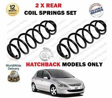 PER PEUGEOT 307 1.4 1.6 2.0 + HDi Hatchback 2000> NUOVI 2 x MOLLA post. Set