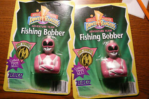 NEW 2 POWER RANGER PINK FISHING BOBBERS