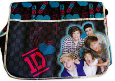 ONE DIRECTION  BAND MESSENGER BAG Hary Louis 1D tote school bag Brand New!!