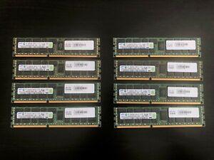 Lot 8 Samsung M393B1K70DH0-YH9 8GB 2Rx4 PC3L-10600R ECC Registered Server RAM