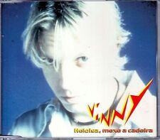 "VINNY  "" Heloisa, mexe a cadeira ""   CD singolo  NUOVO 3 TRACCE 1997  UDP"