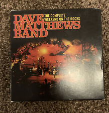 Dave Matthews Band Complete Weekend On The Rocks Full 8 CD Set & DVD Rare