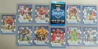 2016 CHICAGO DRAFT PANINI DONRUSS NFL SET 10 CARDS ROOKIES WENTZ, GOFF,HENRY