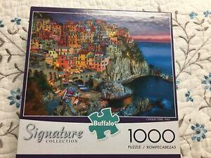 Buffalo Games Signature Collection Cinque Terre, Italy 1000 Piece Jigsaw Puzzle
