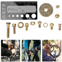 36Pcs/set Titanium Alloy Bike Bicycle Screw Bolt Kit For Fixing Brake Block