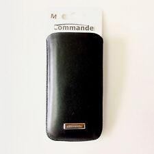Commander Men und Boyz Nappa Leder Case für Apple iPhone 4 4S 5 5C 5S 5SE Größe