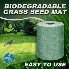 20*300cm 1 Roll Biodegradable Grass Mat Starter Mat Planting Mats For Garden